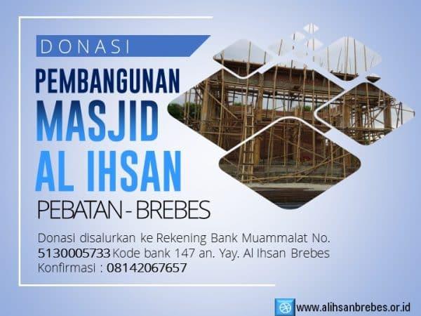 Donasi Pembangunan Masjid Al Ihsan